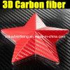 Alta qualità Red 3D Carbon Fiber Vinyl Film con Air Free Bubbles