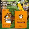 Máscara protetora animal do Anti-Enrugamento do tigre de Snp da máscara facial mágica da forma de Coreia