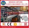 Feuille de PVC de décoration/machine de fabrication de marbre d'imitation/artificielles de panneau/plaque avec l'enduit UV (SJ-80/156)