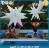Estrella inflable de la estrella de la nueva Navidad decorativa inflable del diseño