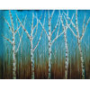 Segeltuch Abstract Tree Paintings für Home (LH-099000)