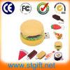 PVC USB Ouvrir-Conçoivent la clé de mémoire USB faite sur commande de dessin animé de nourriture