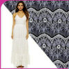 Модное Elastic Lace Fabric для Ladies Dress и Garments
