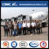 Cimc тележка смесителя бетона/цемента Huajun поставленная к клиенту