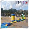 膨脹可能な水公園のゲームのためにコンボ水スライド