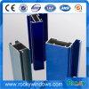 Rotsachtig Poeder die 6063 T5 Aluminium Uitgedreven Profielen met een laag bedekken
