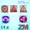 Signe de route solaire de clignotement de DEL/Signage solaire/Signage de circulation