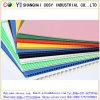 Feuilles en plastique ondulé coloré en PP