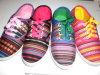 Новый стиль Lady Отдых Холст обувь тапочки (XX54)