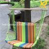 고품질 녹색 줄무늬 그네 의자