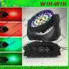 DMX bewegliches Hauptfarben-Licht der summen-Beleuchtung-LED