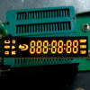 Grandi 7 Digits 7 Segment LED Display in Yellow