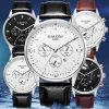 方法男性用多機能の腕時計