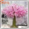 Grande albero dentellare decorativo artificiale del fiore del fiore della pesca