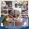 AISI 304 gravou a chapa de aço inoxidável do espelho para a decoração