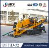 Machine horizontale du forage Dfhd-32 dirigé, plate-forme de forage de Trenchless à vendre