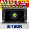 日産Qashqai (W2-A9900N)のためのWitson Android 4.4 System Car DVD