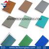 L'espace libre, bronze, gris, bleu, verdissent la glace de flotteur teintée et r3fléchissante