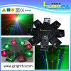 80MW * 4 Green + 200MW * 2 Red + 500MW * 2 Azul, RGB Octopus Laser Iluminação Cénica