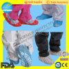 Устранимая крышка ботинка Nonwoven PP+CPE, противоюзовые крышки ботинка