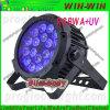 Dünner LED-NENNWERT kann 18*15W Rgbwauv 6in1 kleines Stadiums-Licht
