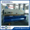 Máquina de corte de la guillotina hidráulica inoxidable de la hoja