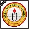 Het Geweven Etiket van de douane School voor de Toebehoren van de Doek (byh-10217)