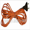 Energia-Saving Silicone Reptile Heating Cable de 20m com Plug europeu