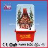 Gift van Kerstmis van de Decoratie van de Sneeuw van het plattelandshuisje de Vliegende
