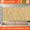 Pared Panel Bamboo Wallpaper para Decoration