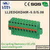 Ll2edgkdam- 5.0/5.08 Pluggable 끝 구획 연결관