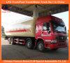 HOWO resistentes 371HP secan los carros del tanque a granel del cemento del polvo 25tons para la venta