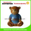 Украшение комнаты статуи куклы фарфора медведя бедных