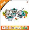 Зеленый Корпус из нержавеющей стали Кухонная посуда