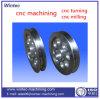 Pieza que trabaja a máquina de la precisión de encargo de aluminio del CNC de la alta calidad