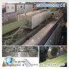 PVC/PE de houten Plastic Lijn van de Uitdrijving van het Profiel van de Vloer (van het Schuim)