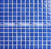 Quadratischer Kristall glasig-glänzende keramische Blüten-Muster-Mosaik-Fliese (BCH611)