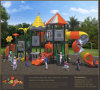 Kaiqi Media-ha graduato Outdoor secondo la misura Playground di Highquality Children con Tube Slides (KQ50060A)