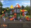 Спортивная площадка Outdoor Children высокого качества Kaiqi среднего размера с Tube Slides (KQ50060A)
