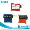 Máscara de respiración unidireccional del CPR de la válvula de Reuseable