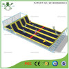 Long Jump Large Trampoline Bed with Slope