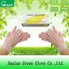 Ясные устранимые перчатки PVC продают оптом