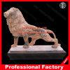 Het hand Gesneden Marmeren Standbeeld van de Leeuw voor de Decoratie van de Tuin of van het Huis