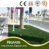 Pelouse artificielle d'herbe pour la décoration de route