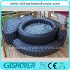 円形のLarge Plastic Adult Bath Tub (pH050017)