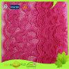 Cordón elástico de nylon hecho punto del diseño del estiramiento del telar jacquar