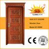 Solid Wood (SC-W088)를 가진 Interior 최상 MDF Wooden Doors