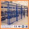 Seguridad del almacén que cerca la partición del taller del acoplamiento de la puerta/de alambre del acoplamiento de /Wire