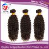 Дешевый бразильский соткать человеческих волос курчавых волос девственницы Remy (HKCB-A216)