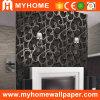 Bel intérieur de papier de mur de PVC du fond 2016 (80506)